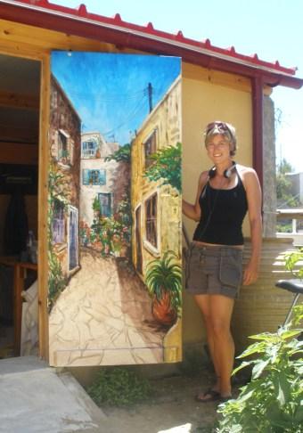 Crete Greek Street Mural