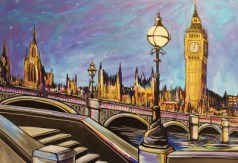Big Ben Painting on canvas