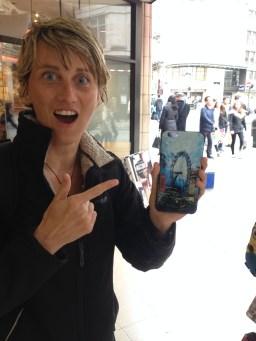 London Art ripped off Jenny Leonard