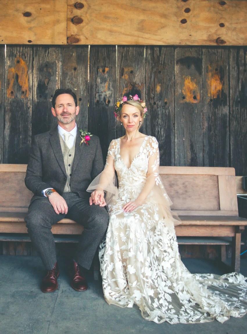 boho forest wedding bespoke wedding dress