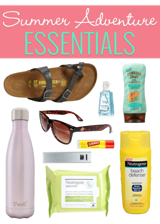 summer adventure essentials
