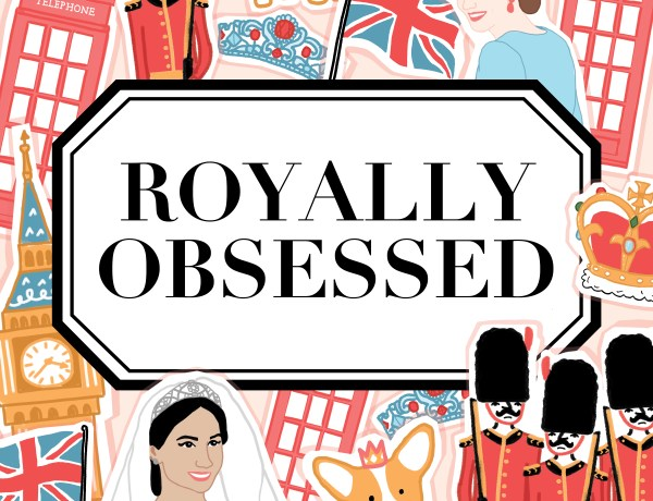 Royally Obsessed podcast art.