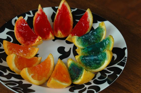 A jello rainbow!