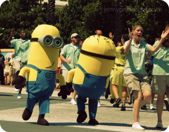 A Minion flashmob