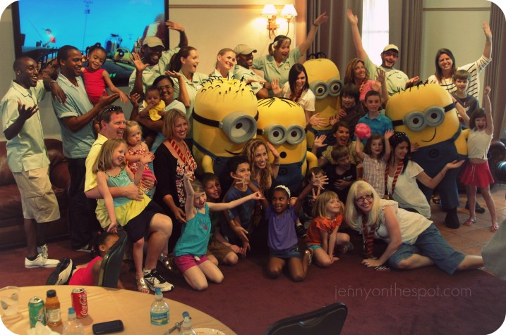A Minion party's in the HOUSE!