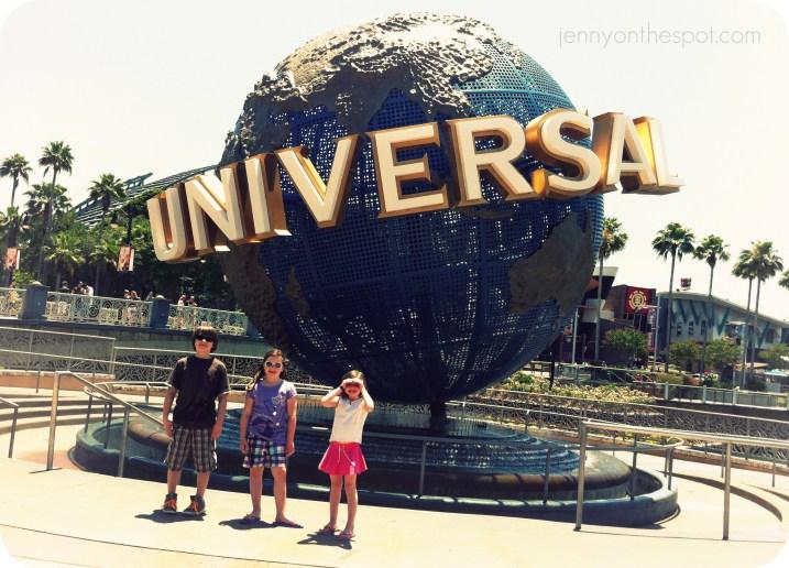 A bright, sunny day at Universal Orlando