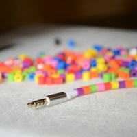 DIY: Personalize Cords Using Perler Beads