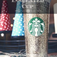 Take It On Tuesday: How To Make Glitter-Filled Starbucks Cold Cup!