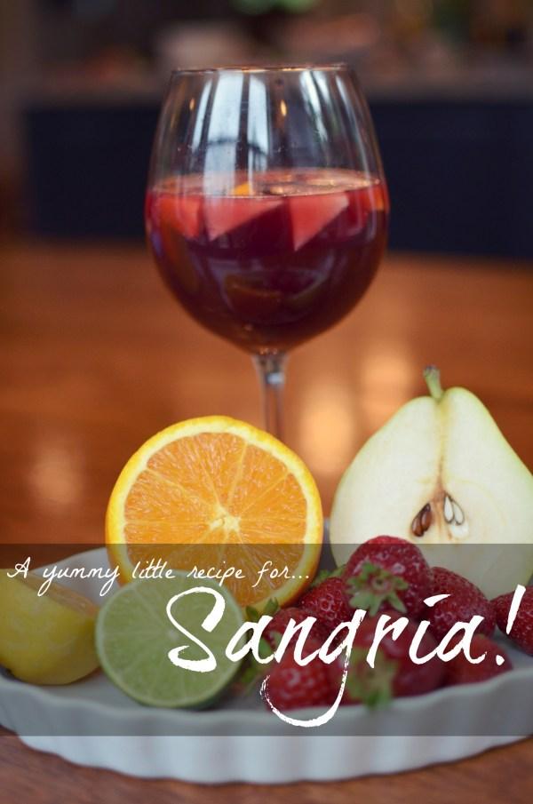 Sangria for Two via @jennyonthespot