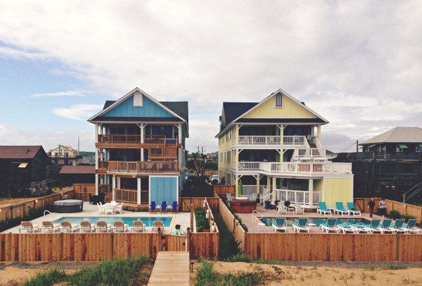 Click Retreat houses, Outer Banks, NC