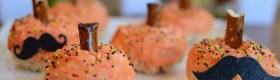 Rice Krispy Treat Pumpkins via @jennyonthespot
