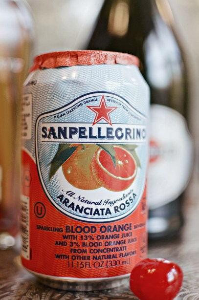 San Pellegrino Blood Orange soda
