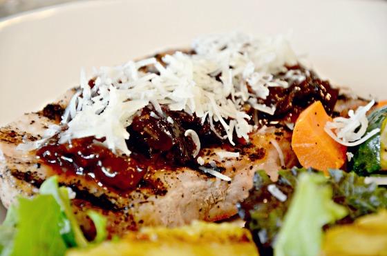 Spicy Pork Chop Glaze Recipes: Spicy Plum Glaze and Sweet Orange Ginger Glaze.