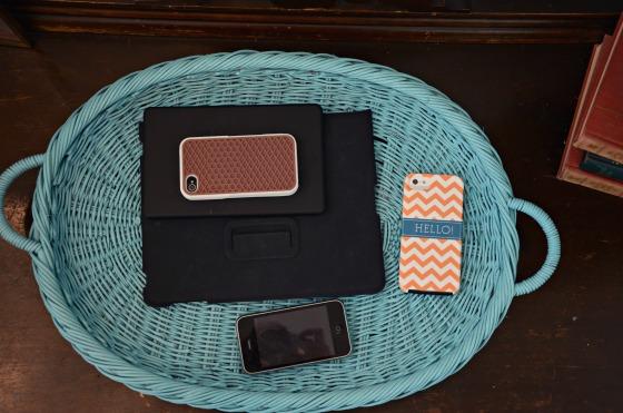 Making Summer Fun: Electronics Basket