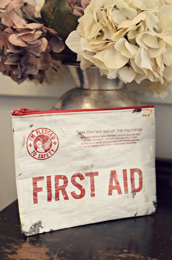 Back to School First Aid Kit for the car