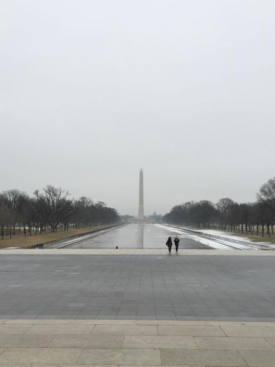 Washington National Monument and reflecting pool