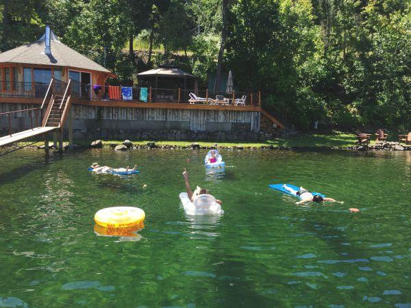 vacation rental on Lake Coeur d'Alene