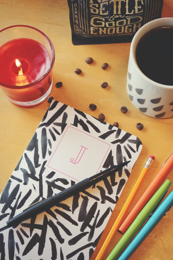 My morning ritual feat: May Designs journal, Glade Candle, Onyx Coffee via @jennyonthespot