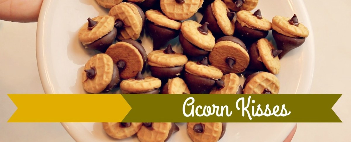 How To Make Acorn Kisses Cookies (Feat: Nutter Butter Bites and Hershey's Kisses!)