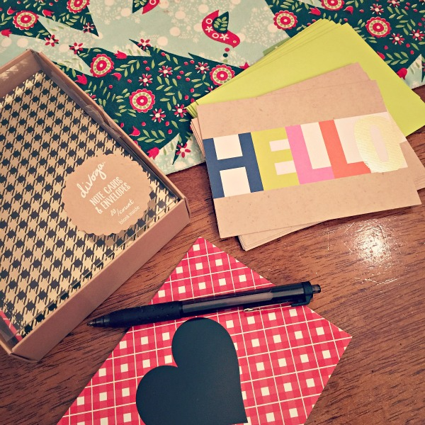 Stationary... letters to friends and family