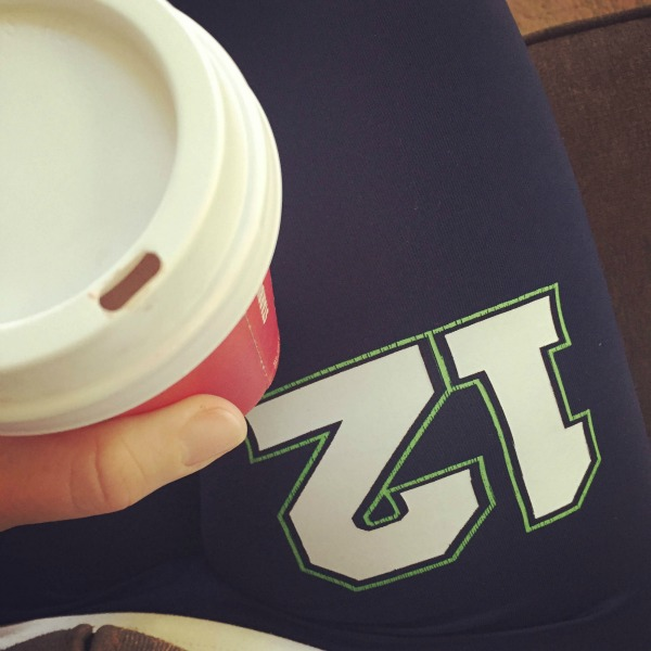 Starbucks and Seahawks