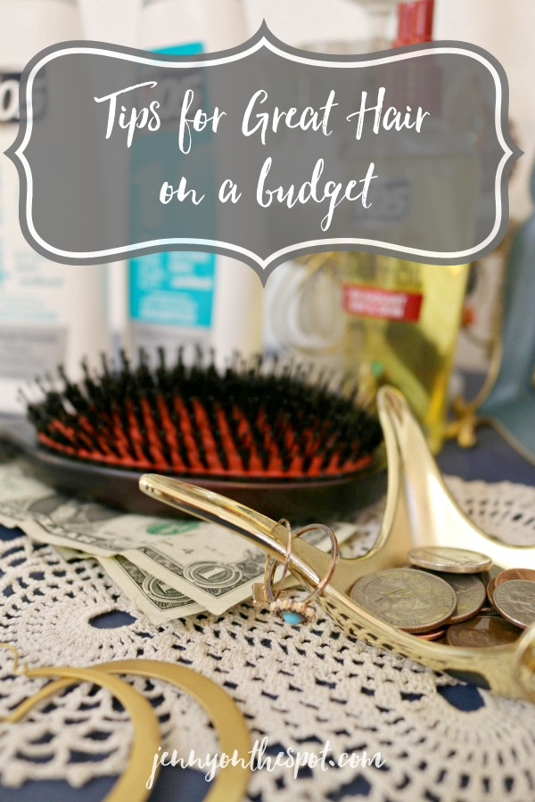Tips for Great Hair on a Budget via @jennyonthespot