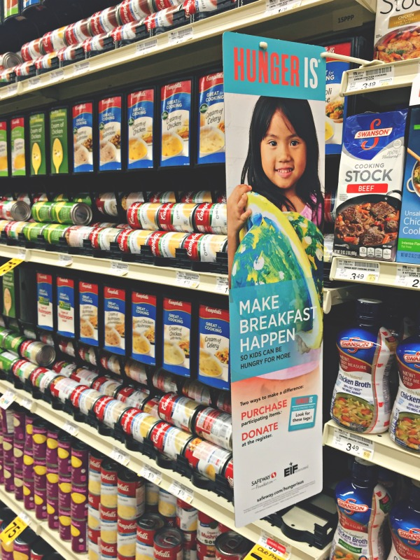 Hunger Is | Qualifying purchase | Safeway stores