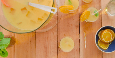 15 Super Bowl Party Recipes: Whiskey Sour Punch
