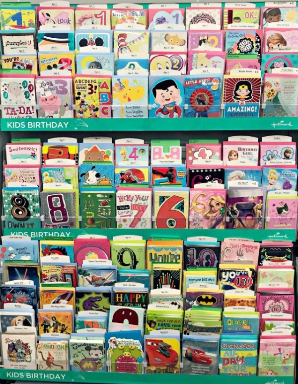Hallmark Cards at Walgreens