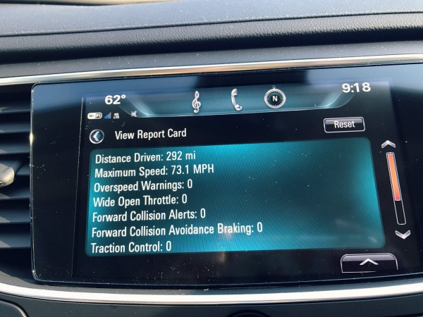 Buick Lacrosse Teen Driver Report Card