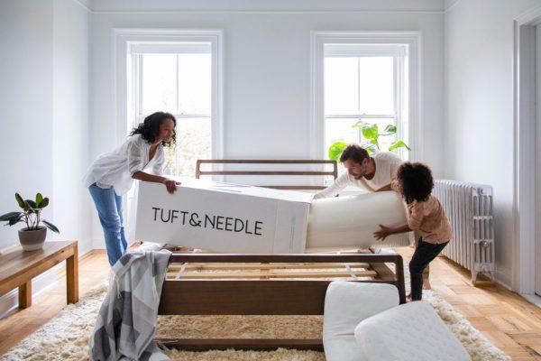 Tuft & Needle easy set-up