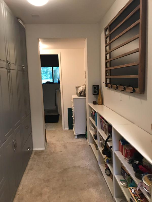 Ikea SEKTION cabinets installed | www.jennyonthespot.com