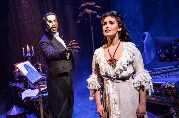 THE PHANTOM OF THE OPERA - Quentin Oliver Lee and Eva Tavares - photo by Matthew Murphy