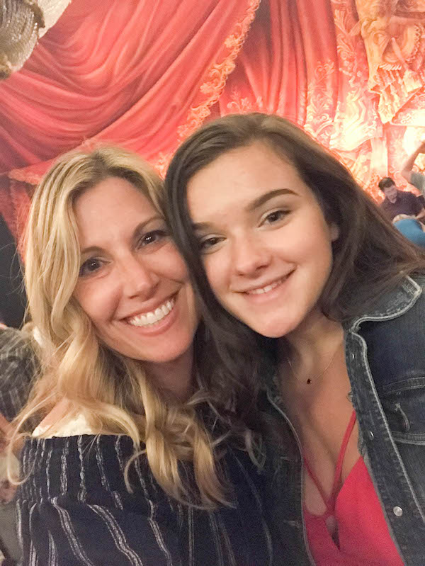 Out with my daughter - Phantom of the Opera at Seattle paramount Theatre August 8-19, 2018