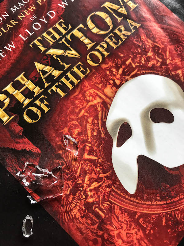 Chandelier - Phantom of the Opera Review at Seattle paramount Theatre August 8-19, 2018