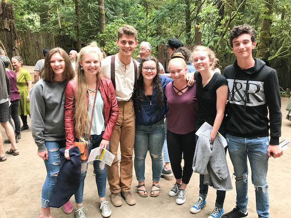 Meeting the cast of Tuck Everlasting - Kitsap Forest Theater