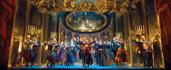 THE PHANTOM OF THE OPERA - The Company performs Masquerade - photo by Alastair Muir