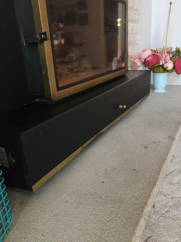 Home Improvement - concrete slab before