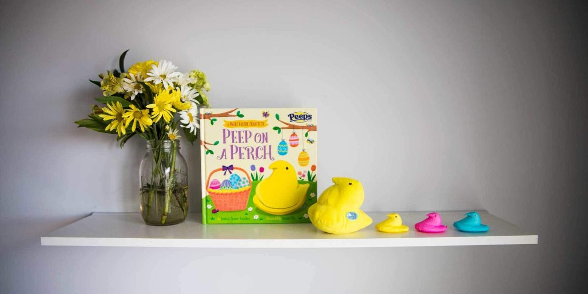 Peep On A Perch: Is This Easter's Answer to Elf-On-A-Shelf?
