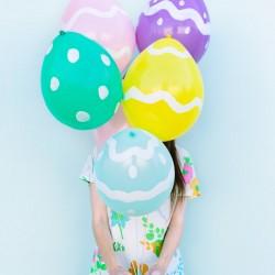 Ballon Easter Egg - Easter Egg Decorating Inspiration