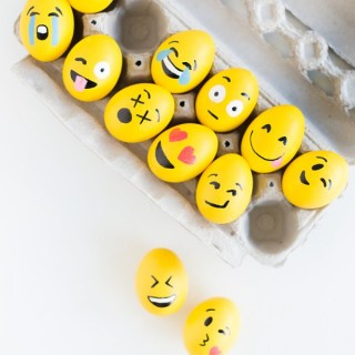 Emoji Easter Eggs - Easter Egg Decorating Inspiration