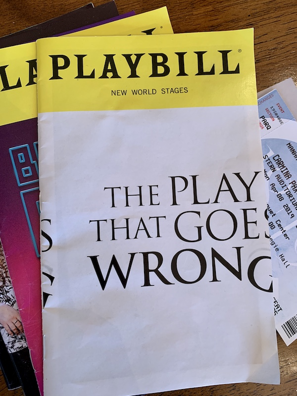 The Play That Goes Wrong at The Paramount in Seattle
