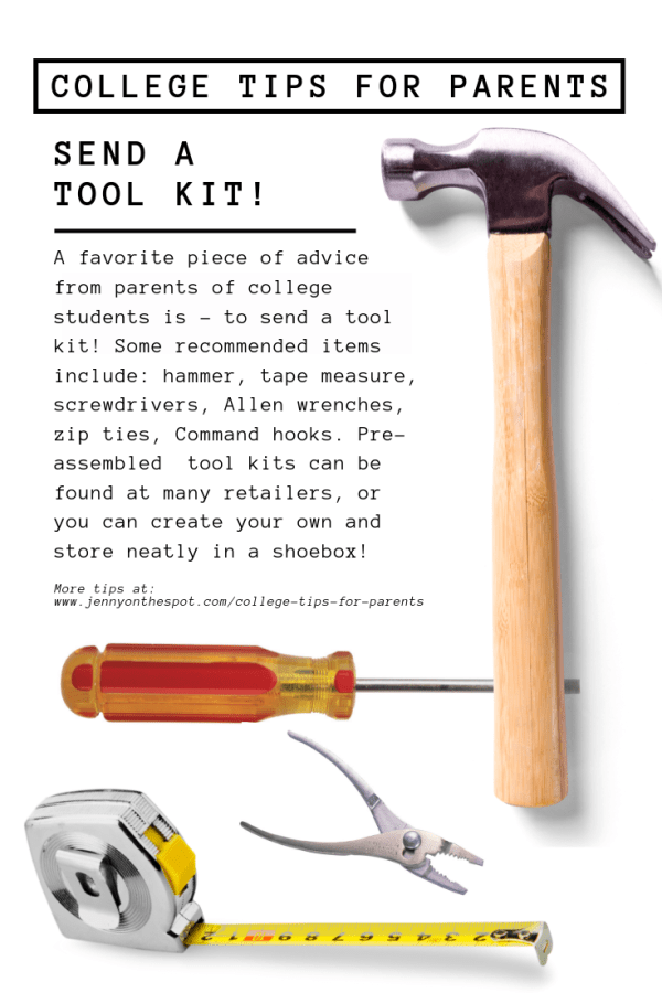 Tool kit for college student