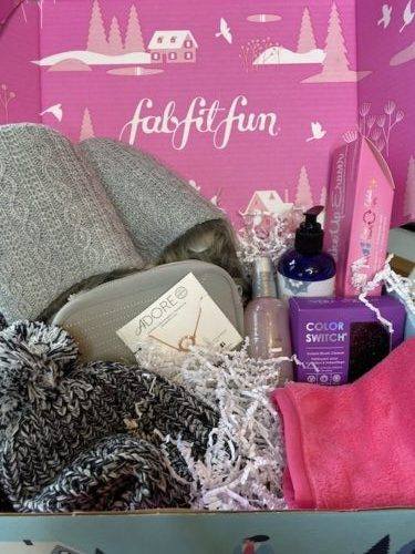FabFitFun Winter Box - a subscription box service