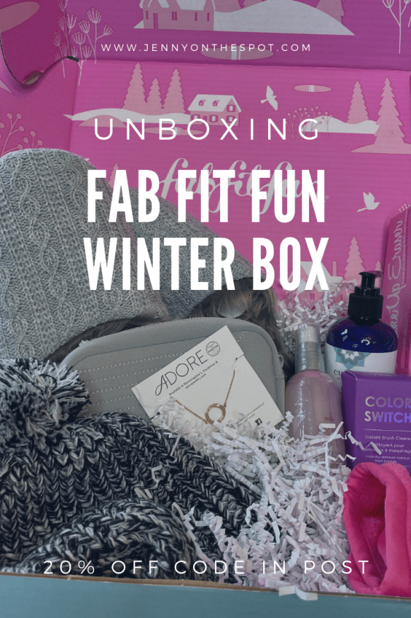 FabFitFun Winter Box! Subscription Box Service
