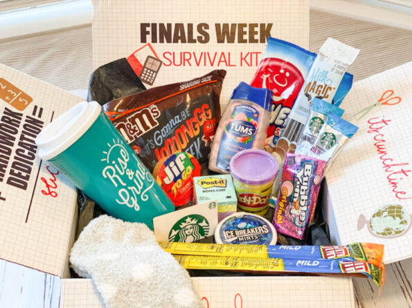 Finals Week Survival Kit - College Care Pakcage