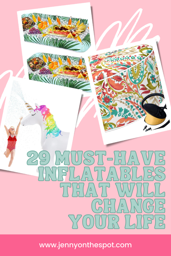 29 Must-Have Inflatables that will change your life!