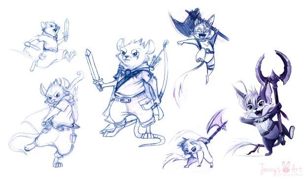 mouse-warrior-doodles