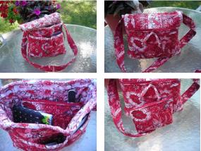 Prequilted Shoulder Bag