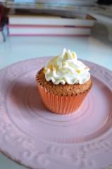 Cupcakes arancia carote e zenzero